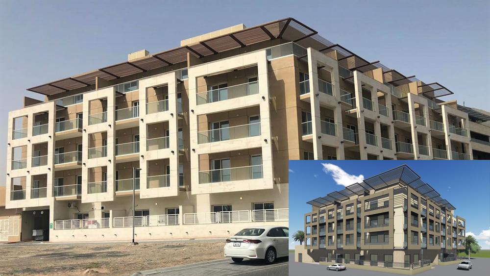 B+G+4 TYP Hotel Apartments