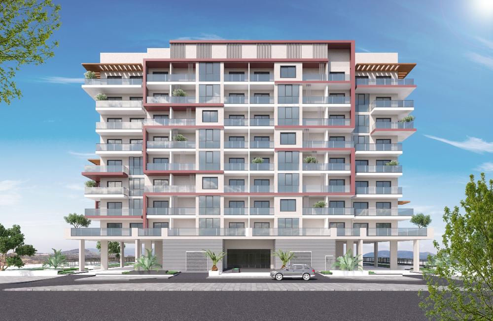B+G+8TYP + HC Residential Building.